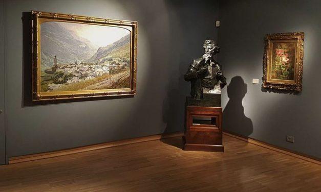 """La Pinacoteca """"Il Divisionismo"""" di Tortona si arricchisce di una nuova opera: """"Il paesello grigio"""" di Carlo Cressin"""