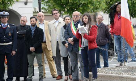 Toccante cerimonia a Pontecurone in occasione del 25 aprile./Le immagini