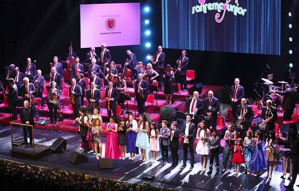 "La Sinfonica a ""SanremoJunior"" 2017 al Teatro Ariston di Sanremo"