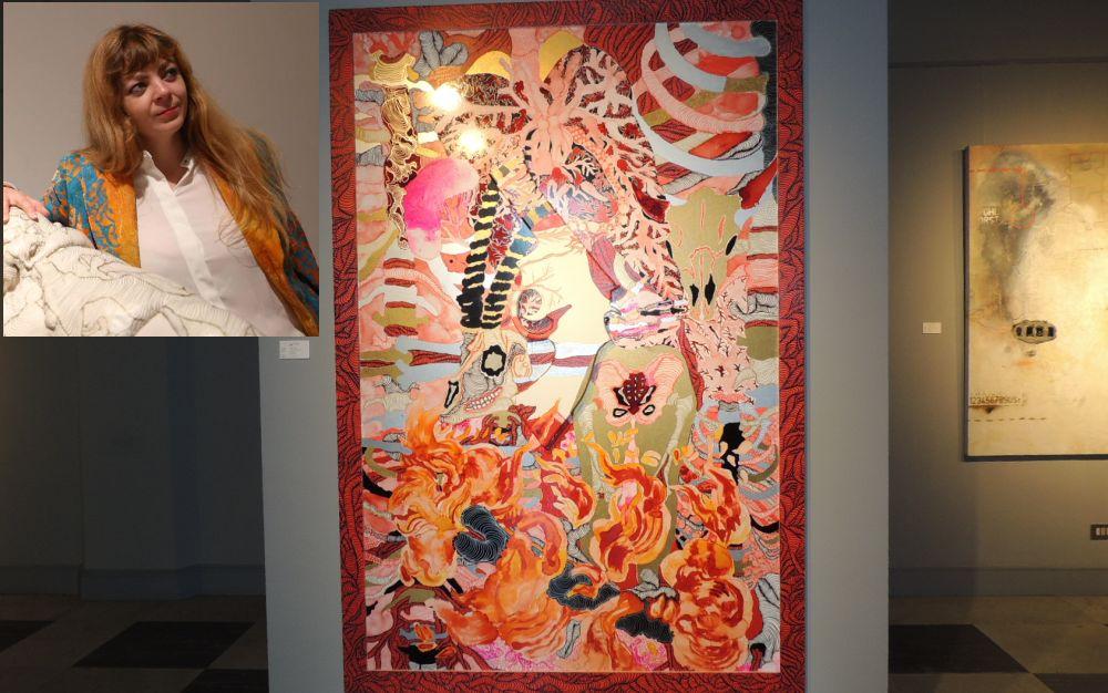 A Diano Marina c'è una mostra assolutamente da vedere per la bellezza delle opere di Marina Vargas e Joanpere Massana