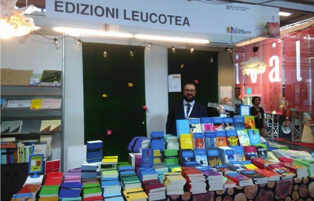 Gli appuntamenti di Domenica della Casa editrice Leucotea di Sanremo al Salone del libro di Torino