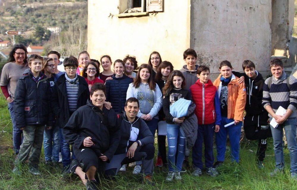 Un documentario realizzato da ragazzi della scuola media G. Gabrielli racconta la storia di Pieve di Teco