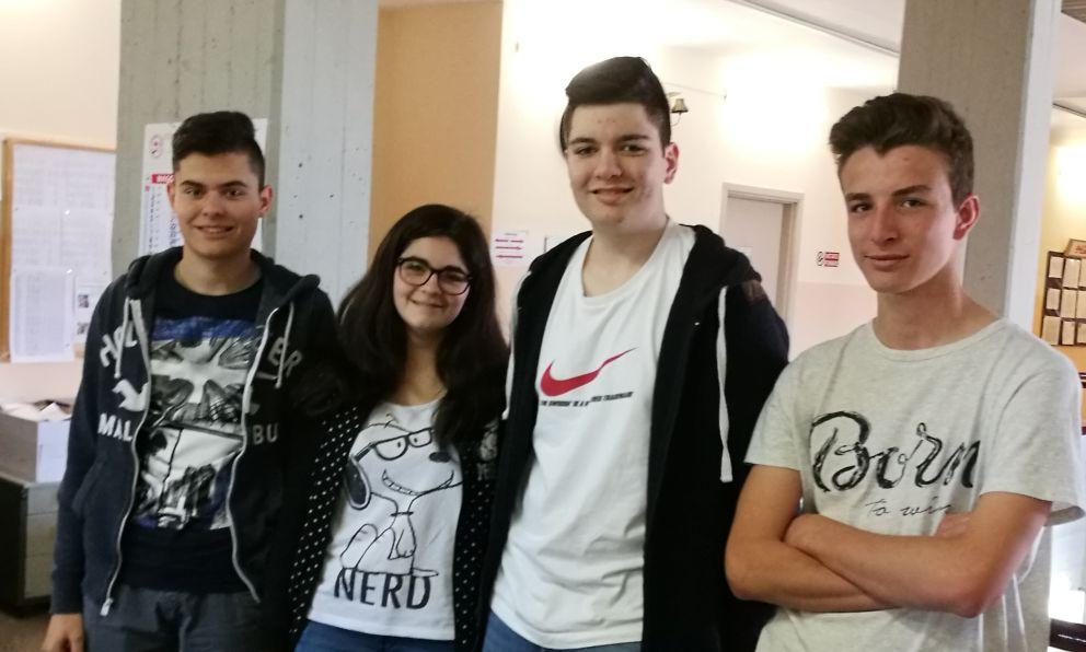 """Quarto posto del Liceo """"Amaldi"""" di Novi Ligure ai nazionali di problem solving"""