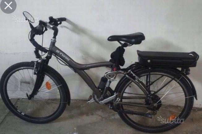A San Bartolomeo, rubano questa bici elettrica legata al cancello di casa, serviva alla proprietaria per andare al lavoro