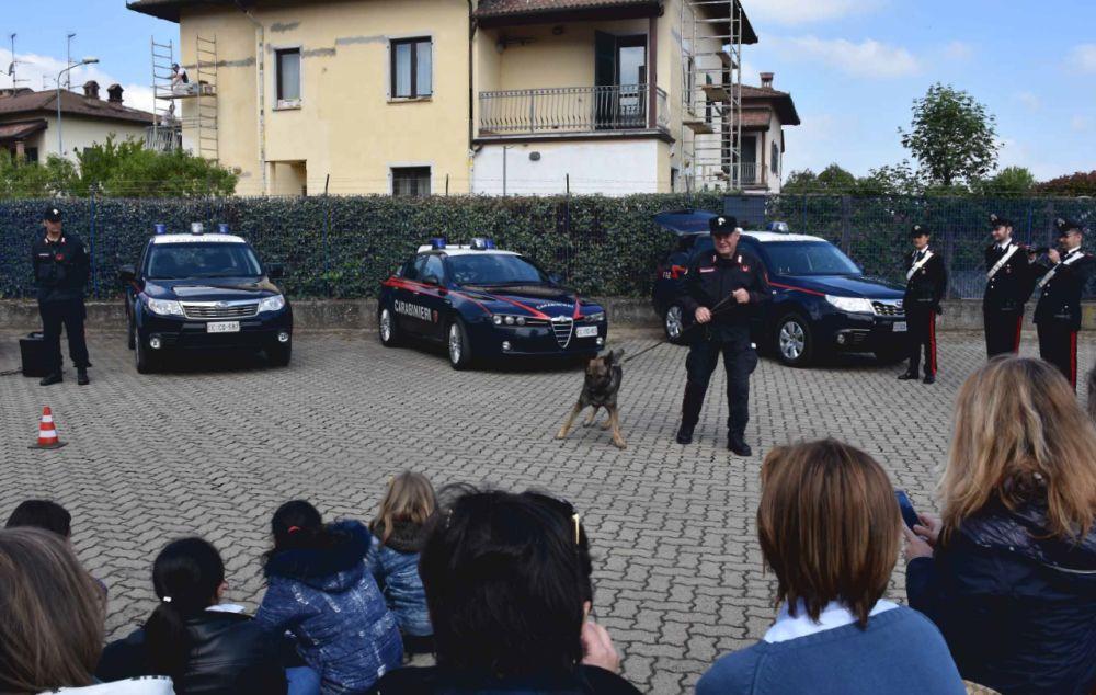 Porte aperte della Caserma di Arquata Scrivia: i  bambini incontrano i Carabinieri