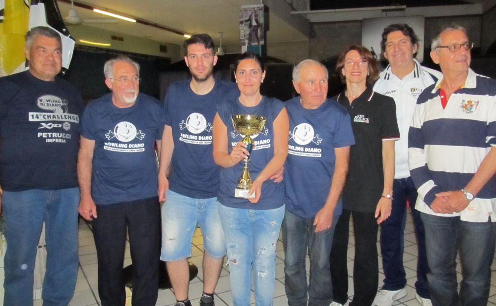 Lunedì al Bowling di Diano un grande torneo aperto a tutti: il Challege Trofeo Petrucci Piaggio
