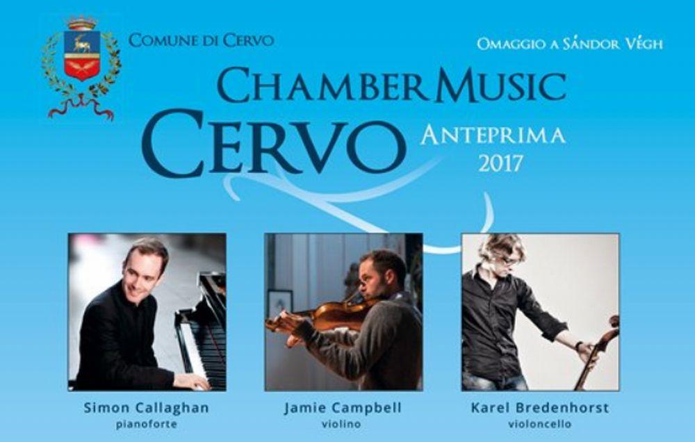 """Venerdì e sabato doppio concerto della """"Cervo Chamber Music"""" all'oratorio di Santa Caterina"""