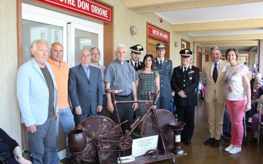 Un dono speciale al Santuario della Madonna della Guardia di Tortona nel ricordo di Fausto Coppi