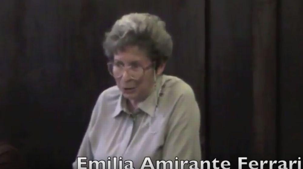 Mercoledì a Diano Gorleri, i funerali di Emilia Amirante Ferrari, nota giornalista e fondatrice del Centro editoriale imperiese