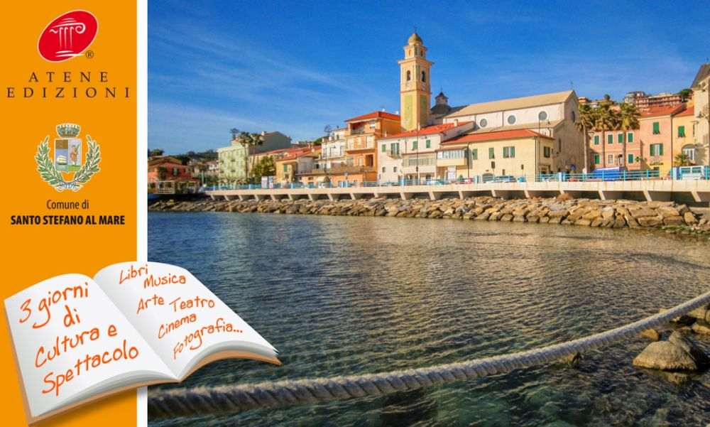 """Santo Stefano al mare ospita la terza edizione del """"Festival del Libro e degli Scrittori Liguri"""""""