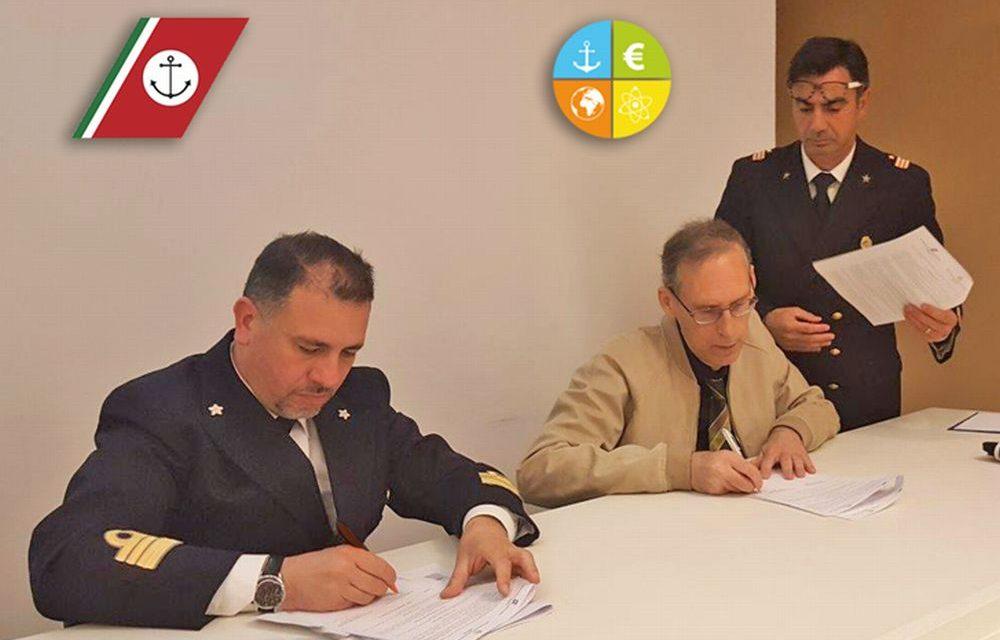Alternanza scuola-lavoro a Imperia, Firmato il Protocollo d'intesa tra la Capitaneria e l'Istituto di Istruzione Superiore Polo Tecnico Imperiese