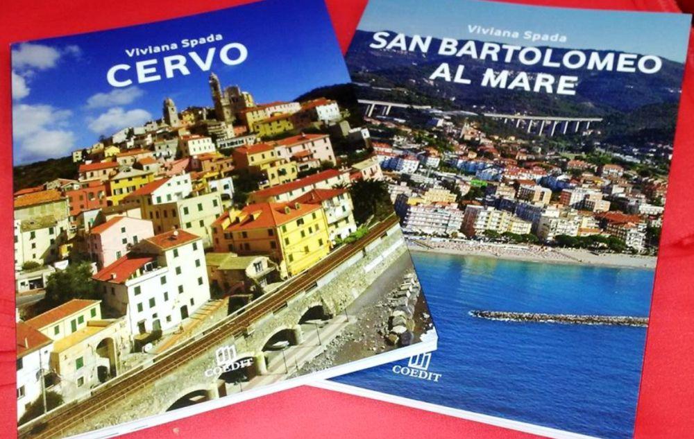 Viviana Spada presenta le guide di Cervo e San Bartolomeo al Mare, giovedì al Tea con l'Autore