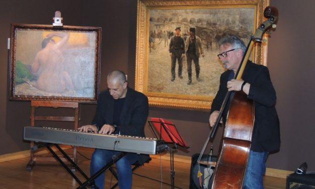 """Un successo la musica Jazz all'interno della Pinacoteca della Fondazione Cassa di Risparmio di Tortona """"Il Divisionismo"""""""