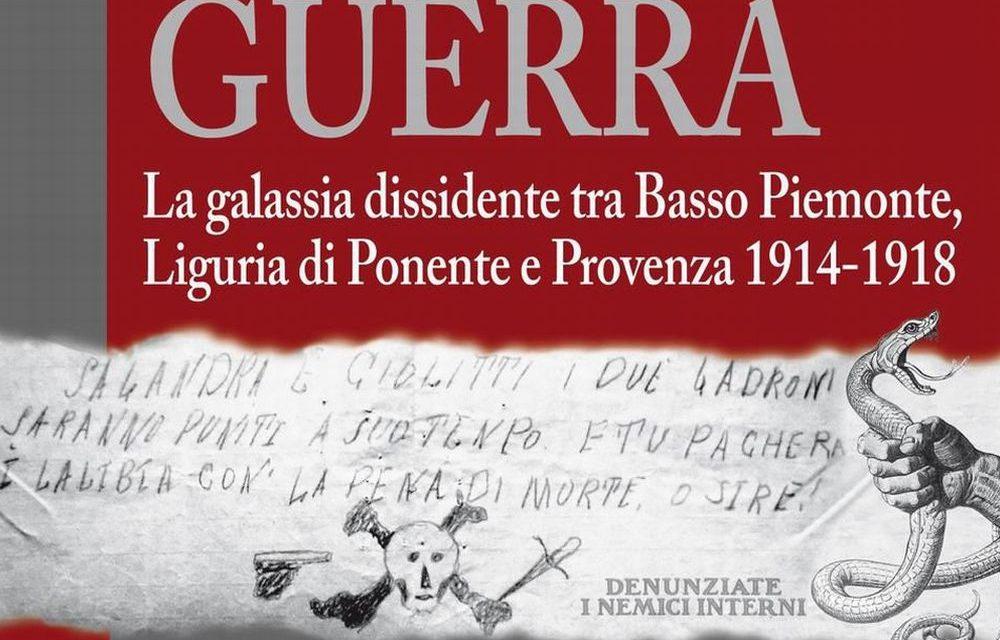 Venerdì a Imperia si presenta il libro sulla Grande guerra di di Graziano Mamone