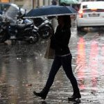 Lunedì allerta gialla per le piogge nel Ponente Ligure