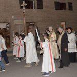 A Pontecurone processione in onore di San Luigi Orione presieduta dal rettore del Santuario don Renzo Vanoi