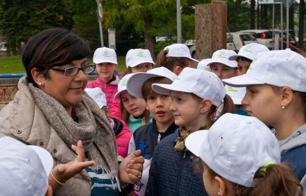 Alessandria, i ragazzi delle scuole alessandrine in visita alla piattaforma di Amag Ambiente