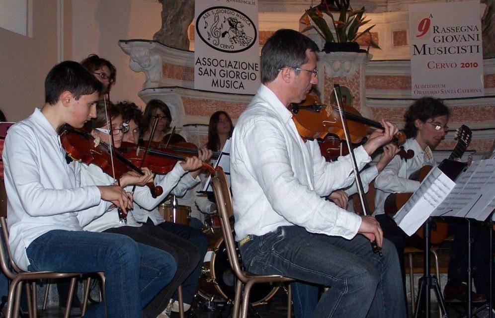 I concerti gratuiti in programma domenica a Cervo nell'ambito della Rassegna Giovani Musicisti all'auditorium di Santa Caterina a Cervo