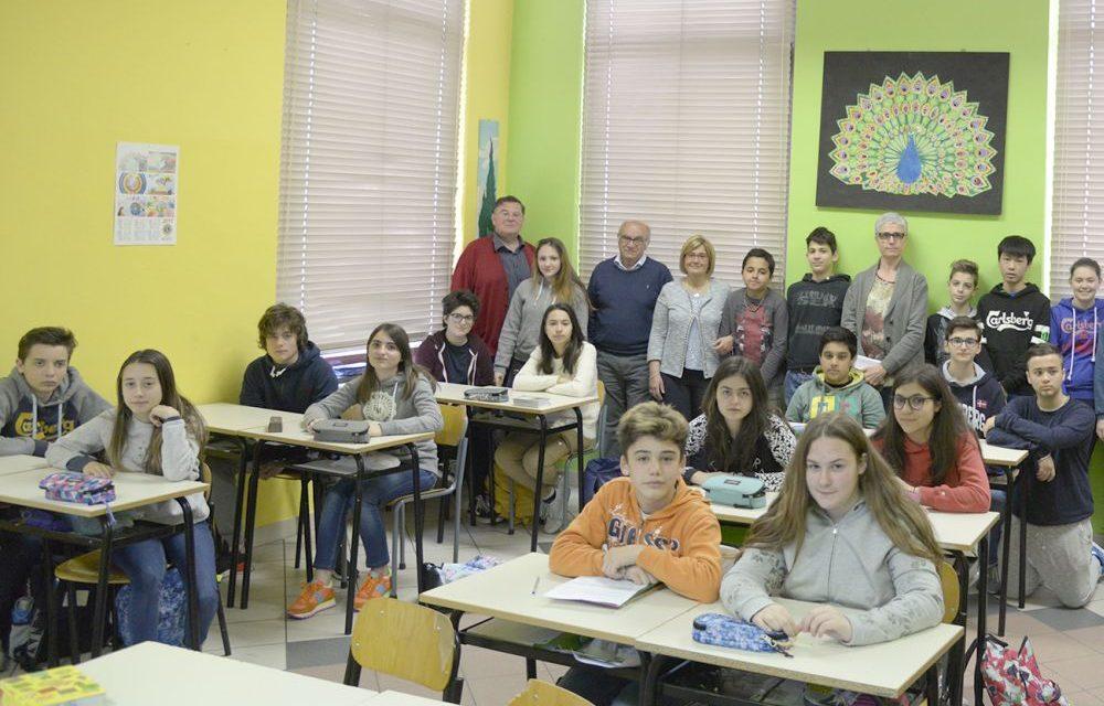 """L'associazione """"Strada facendo ha incontrato gli alunni delle scuole di Pontecurone./Le immagini"""
