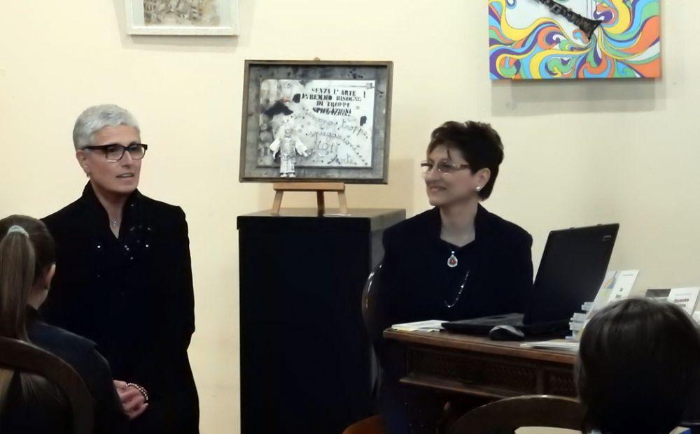 Successo di Giovanna Franzin nella serata dell'arte a Castelnuovo Scrivia