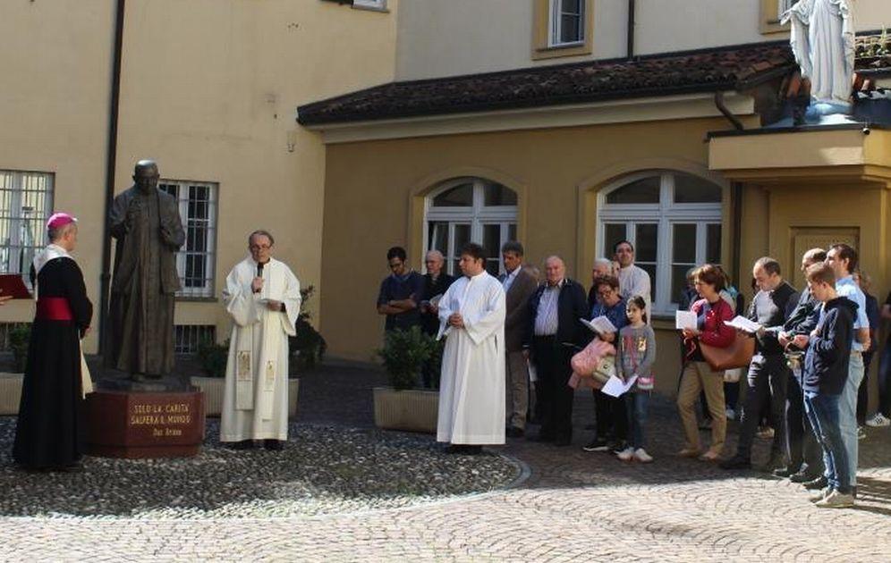 Il Vescovo di Tortona in visita alla parrocchia di San Michele e al Paterno