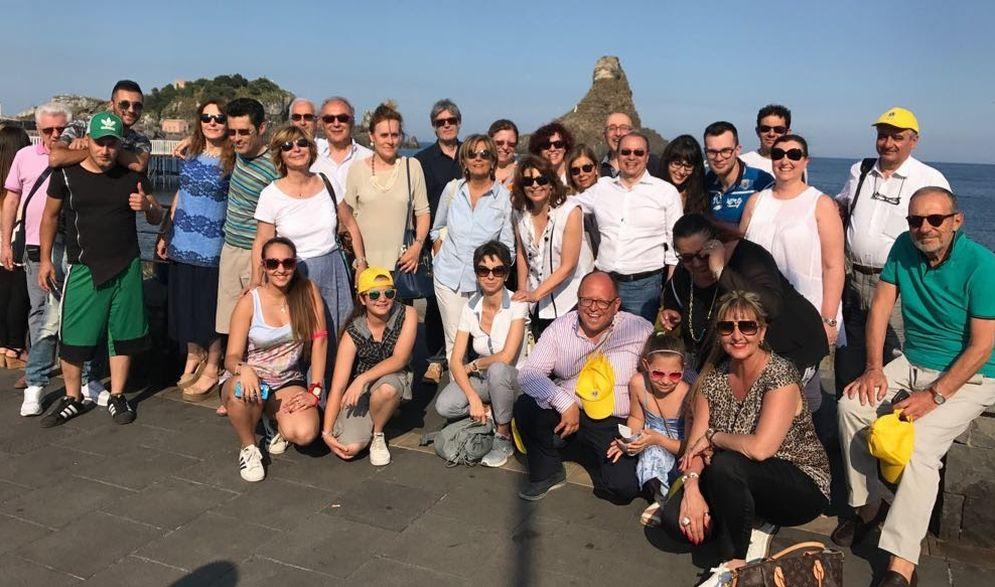 I tortonesi del Lions Club Tortona Host in gita in Sicilia