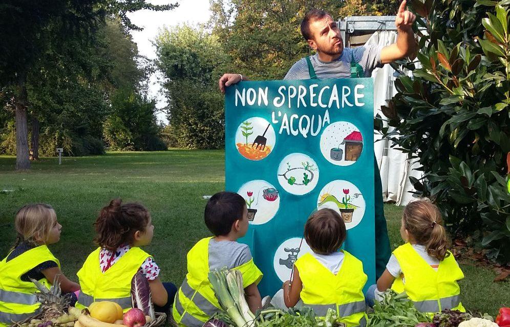 Ad Alessandria i bambini sabato giocano gratis con inOrto, un'attività educativa e divertente promossa da Louis Bonduelle Foundation