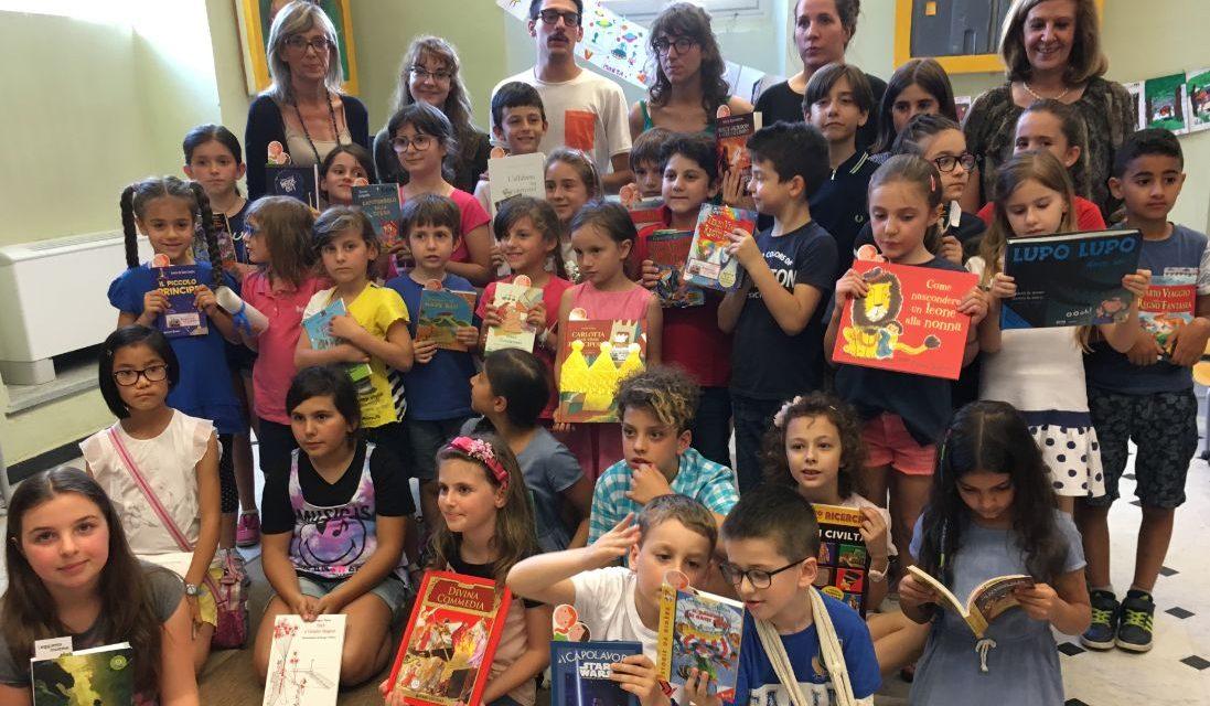 """Tortona, ecco tutti i nomi e le foto dei bambini premiati ai concorsi """"Nati per leggere"""" e """"Mangialibro"""""""