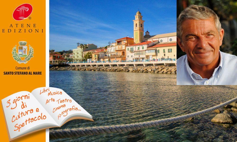 Marco Buticchi l'autore italiano di romanzi d'avventura per eccellenza, testimonial al Festival del Libro a Santo Stefano