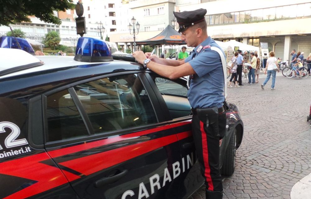 Contrasto ai furti: un altro uomo arrestato dai carabinieri di Ventimiglia
