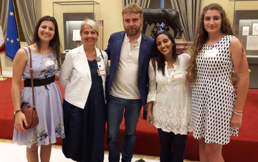 In parlamento studenti liguri e Cervo ti Strega per la proclamazione di Paolo Cognetti del vincitore del premio strega giovani