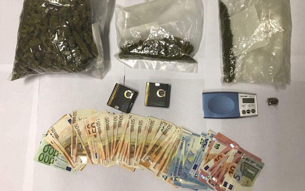 I carabinieri di Alessandria arrestano uno spacciatore e sequestrano droga e soldi