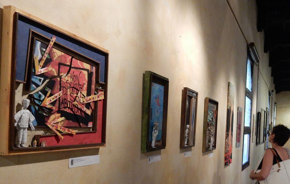 Quattro opere di Fabrizio Falchetto in mostra a Tortona fino al 9 luglio