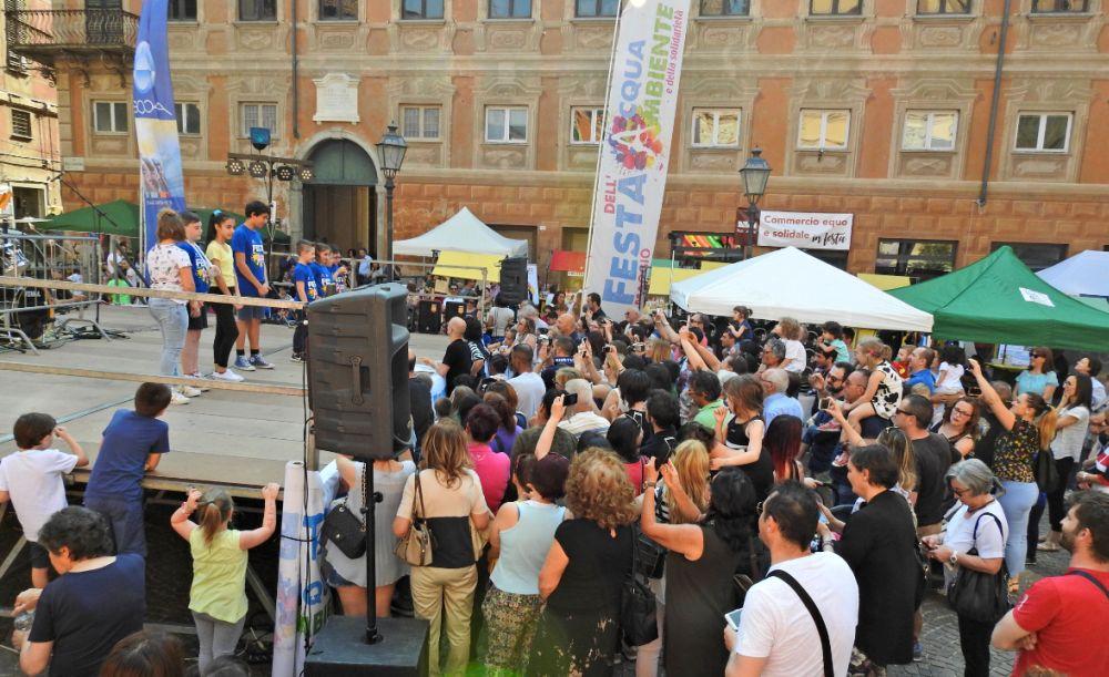 Chiusa con successo a Novi Ligure, la festa dell'acqua, dell'ambiente e della solidarietà