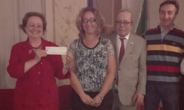 A Brignano Frascata raccolti 2.200 euro per aiutare la Senologia di Tortona