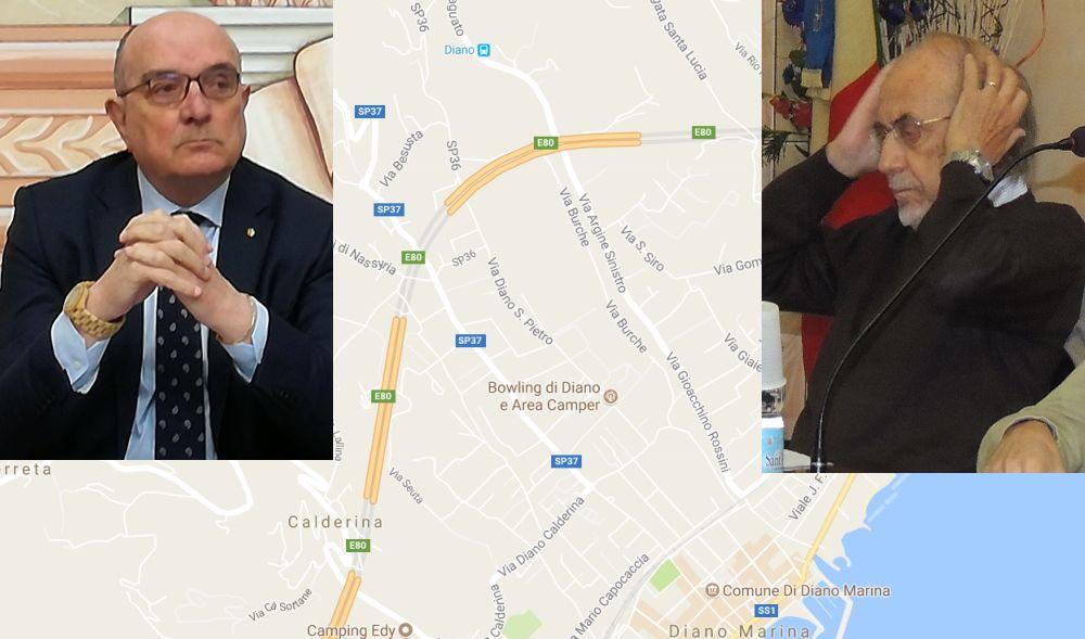"""Basso: """"La cartina di Diano marina distribuita dagli albergatori è sbagliata."""" Pilati: """"Peccato veniale, non è colpa nostra"""""""