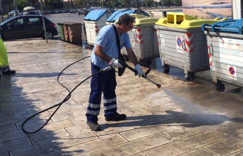Il Comune di Ventimiglia incrementa la pulizia su strade e marciapiedi