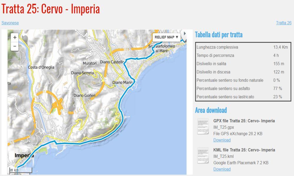 """Presentato a Imperia il """"Sentiero Liguria"""" un itinerario turistico-escursionistico per chi ama camminare e vedere paesaggi stupendi"""