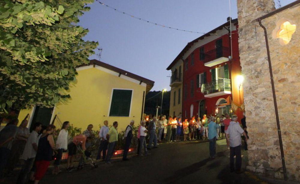 Il Corpus Domini a Villa Viani celebrato la sera dal 17 giugno con particolare solennità