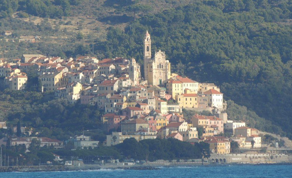 Per la prima volta in Liguria  Miky Degni a Cervo