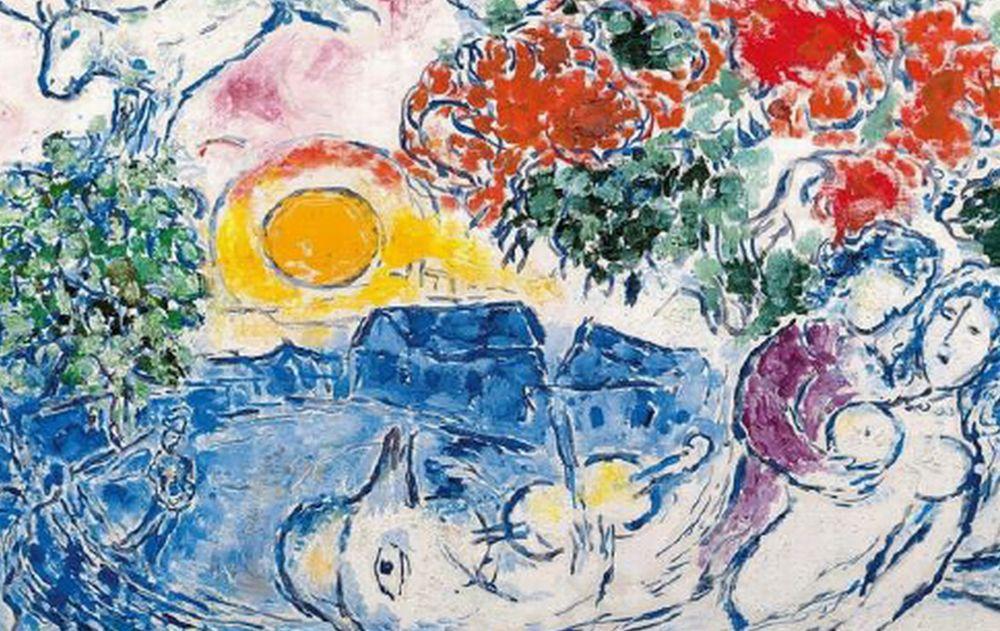 Ad Acqui terme fino al 3 settembre c'è la mostra di Marc Chagall