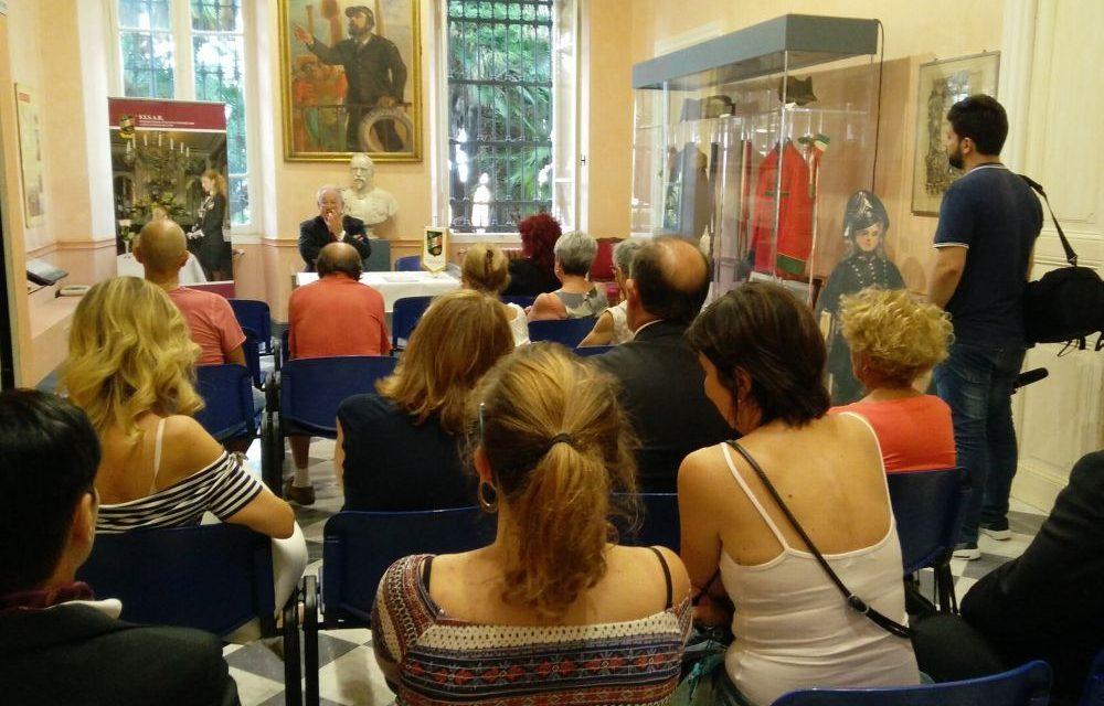 Al museo di Diano Marina il sommelier Giampiero Merano  ha parlato di alcuni aspetti del vino