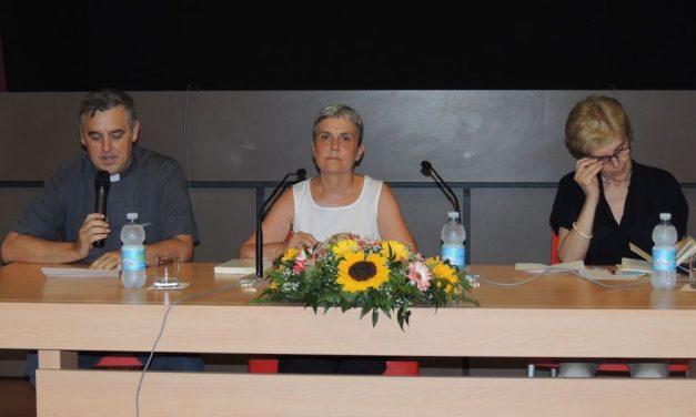 Toccante racconto della giornalista Milly Gualteroni a Diano Marina che ha spiegato com'è risalita dall'abisso