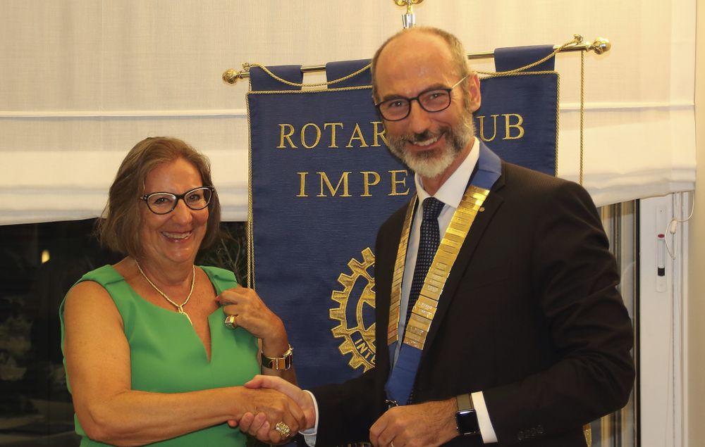 Giuseppe Fossati nuovo presidente del Rotary Club di Imperia