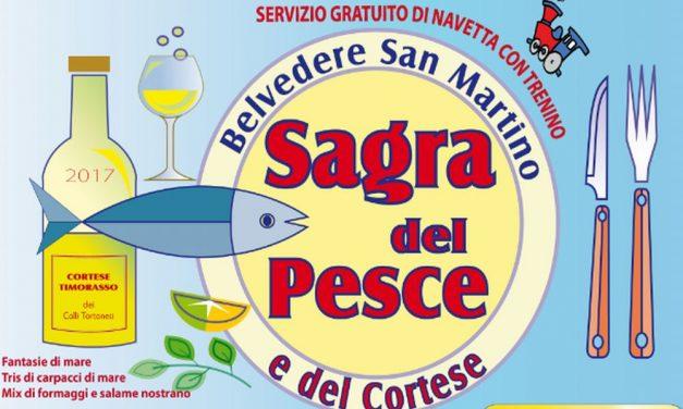 Sabato e Domenica a Gavazzana c'è la sagra del pesce e del cortese. E fra una settimana si replica