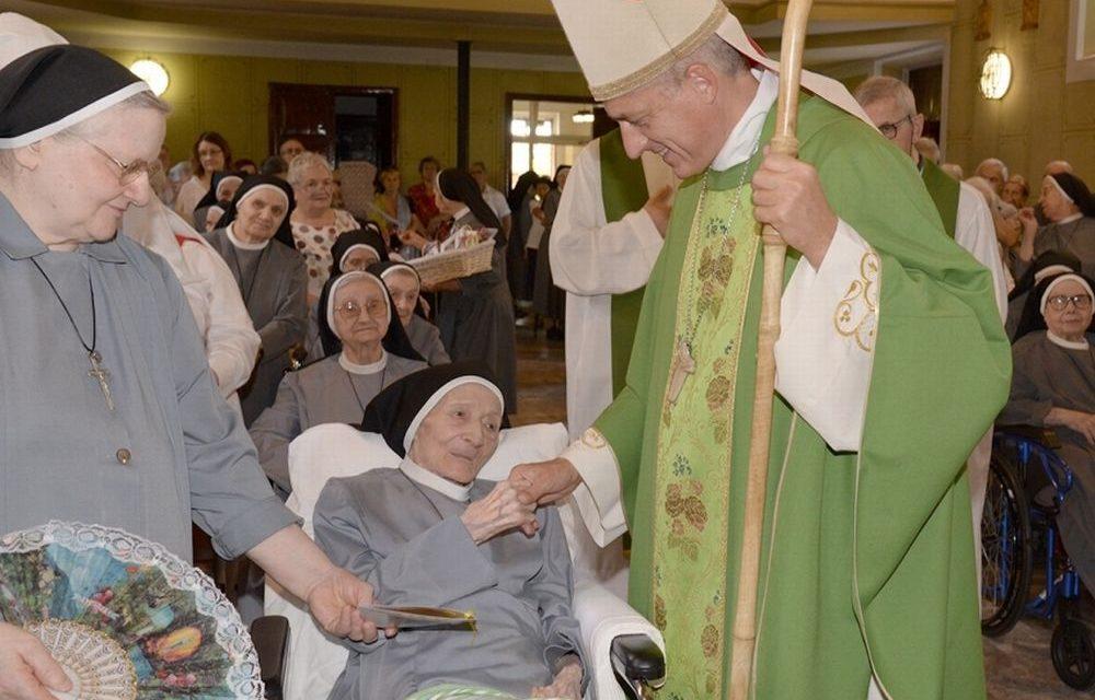 A Tortona Festeggiati 100 anni di Suor Alvina della Congregazione di Don Orione
