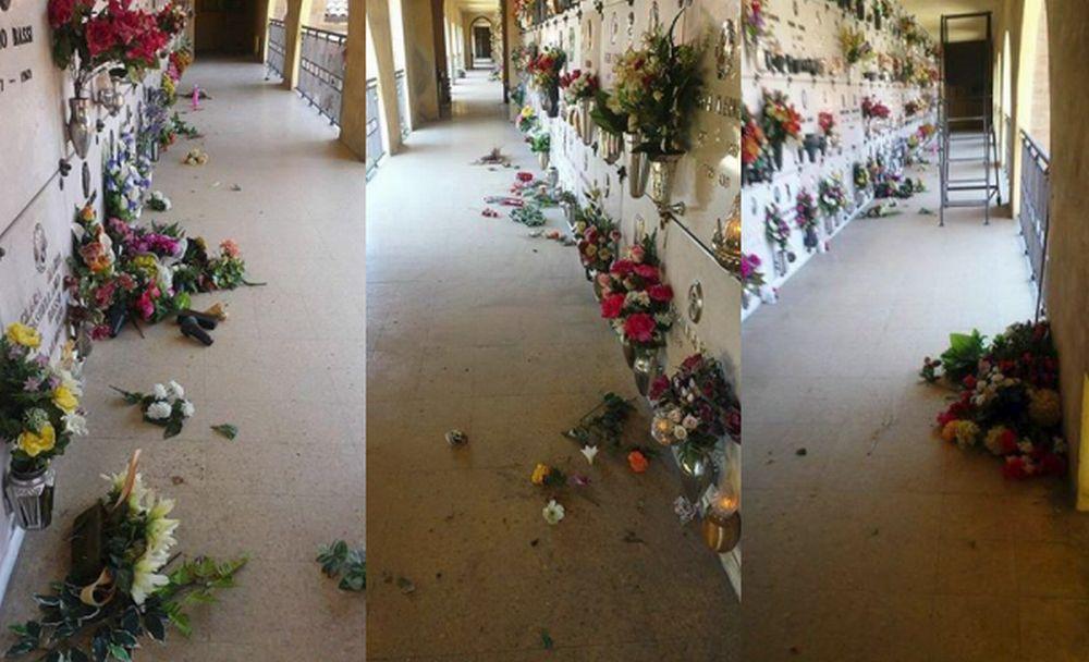 Proteste dei tortonesi: il cimitero di via Rinarolo è così da due settimane e nessuno ha provveduto a tenerlo in ordine