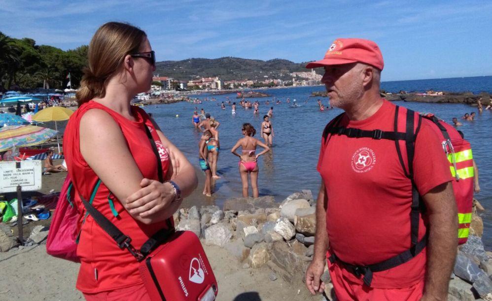 La Capitaneria di Porto e la Croce Rossa di Diano Marina insieme per garantire sicurezza nel Golfo Dianese