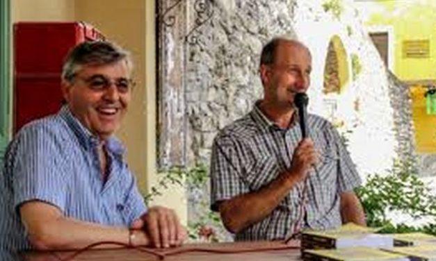 A Seborga presentato il libro dell'imperiese Danilo Balestra con Angelo Giudici di Antea edizioni