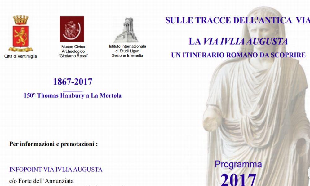 A Ventimiglia a settembre tornano le escursioni lungo la via Julia Augusta